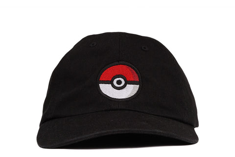"""POKEBALL"" DAD HAT - BLACK"
