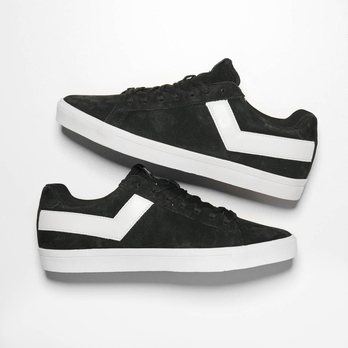 TOPSTAR SUEDE LOW - BLACK