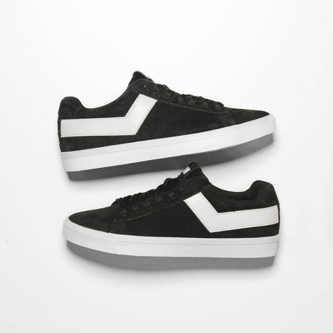 WMNS TOPSTAR SUEDE LOW - BLACK