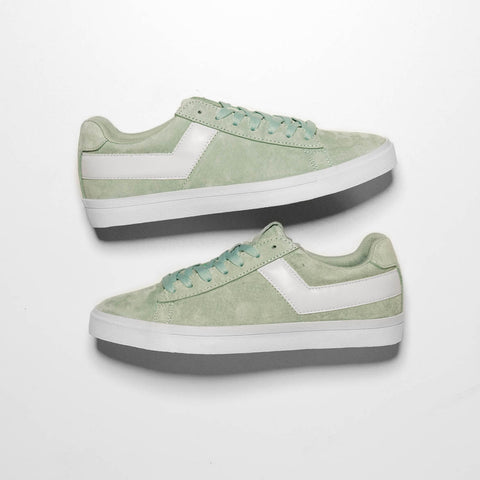WMNS TOPSTAR SUEDE LOW - BAY GREEN