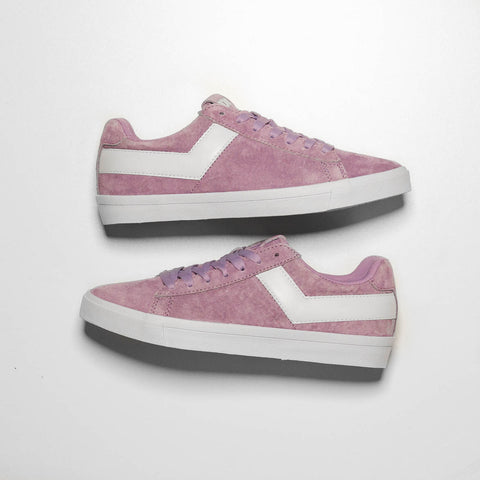 WMNS TOPSTAR SUEDE LOW - ORCHID