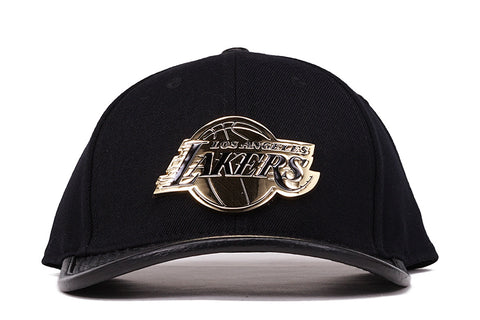 LAKERS TEAM STRAPBACK - BLACK