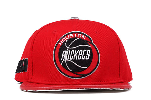 HOUSTON ROCKETS STRAPBACK - RED