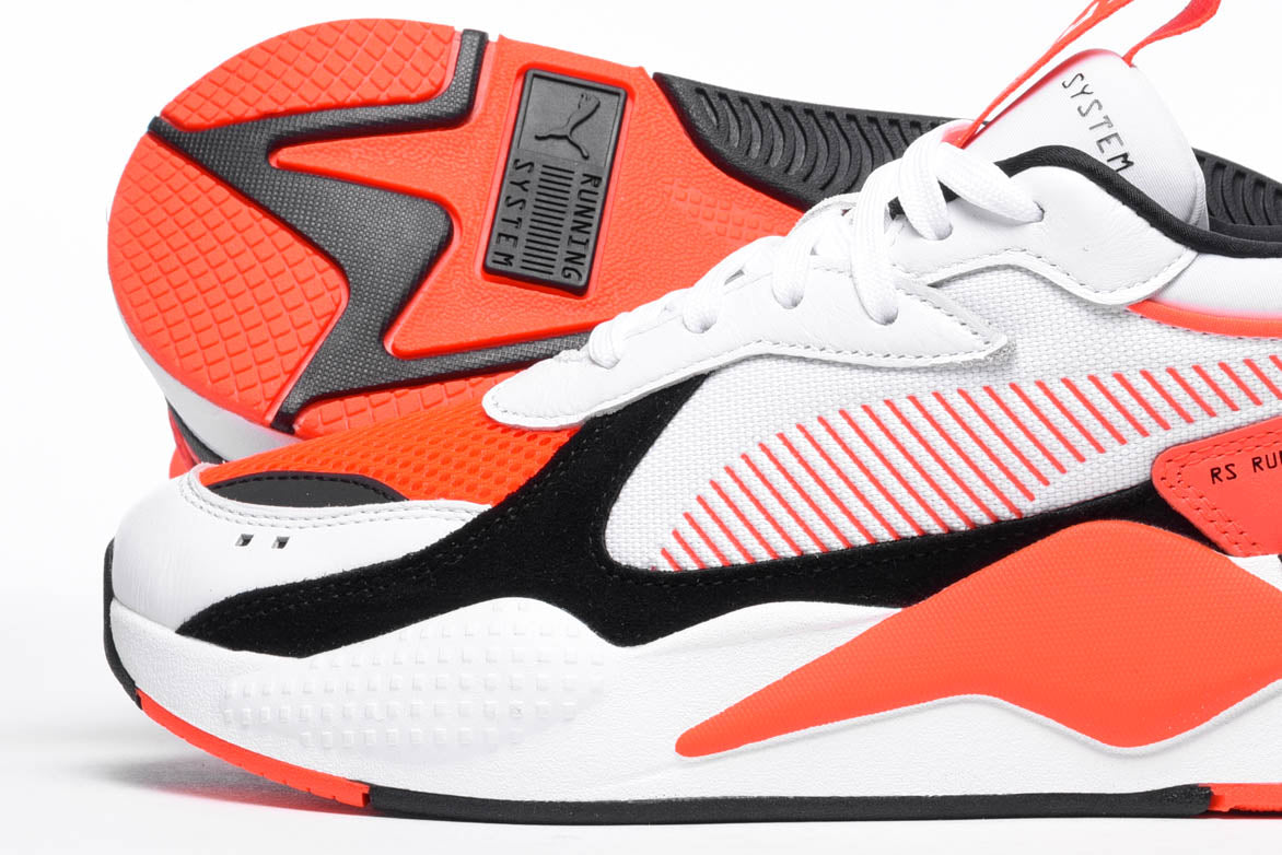 RS-X REINVENTION - WHITE / RED BLAST
