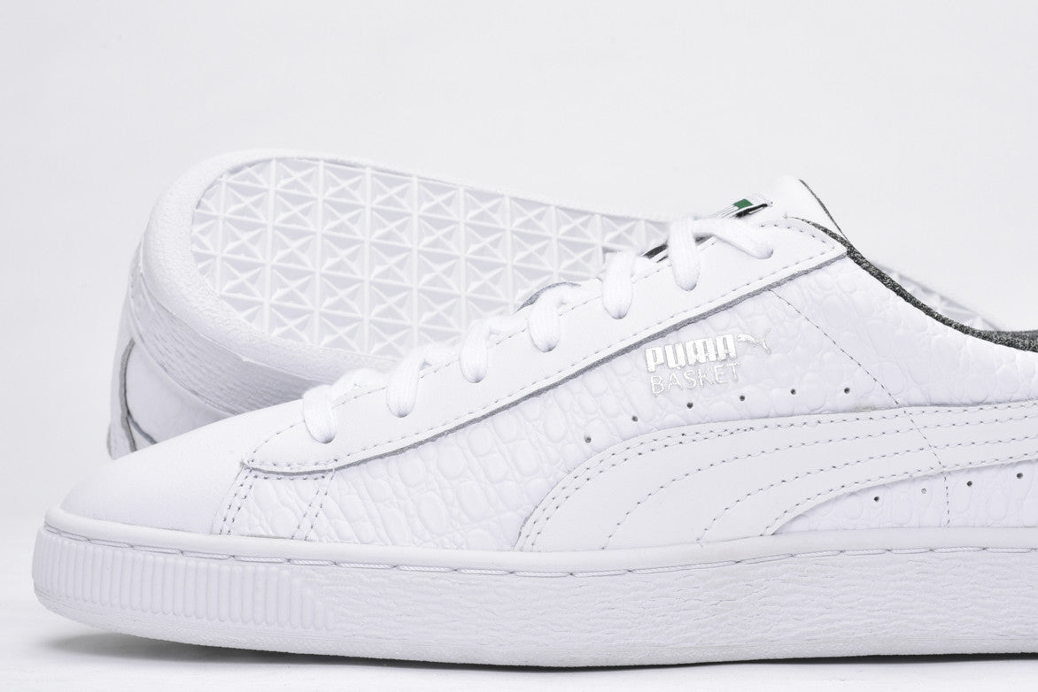 BASKET CLASSIC TEXTURED - WHITE