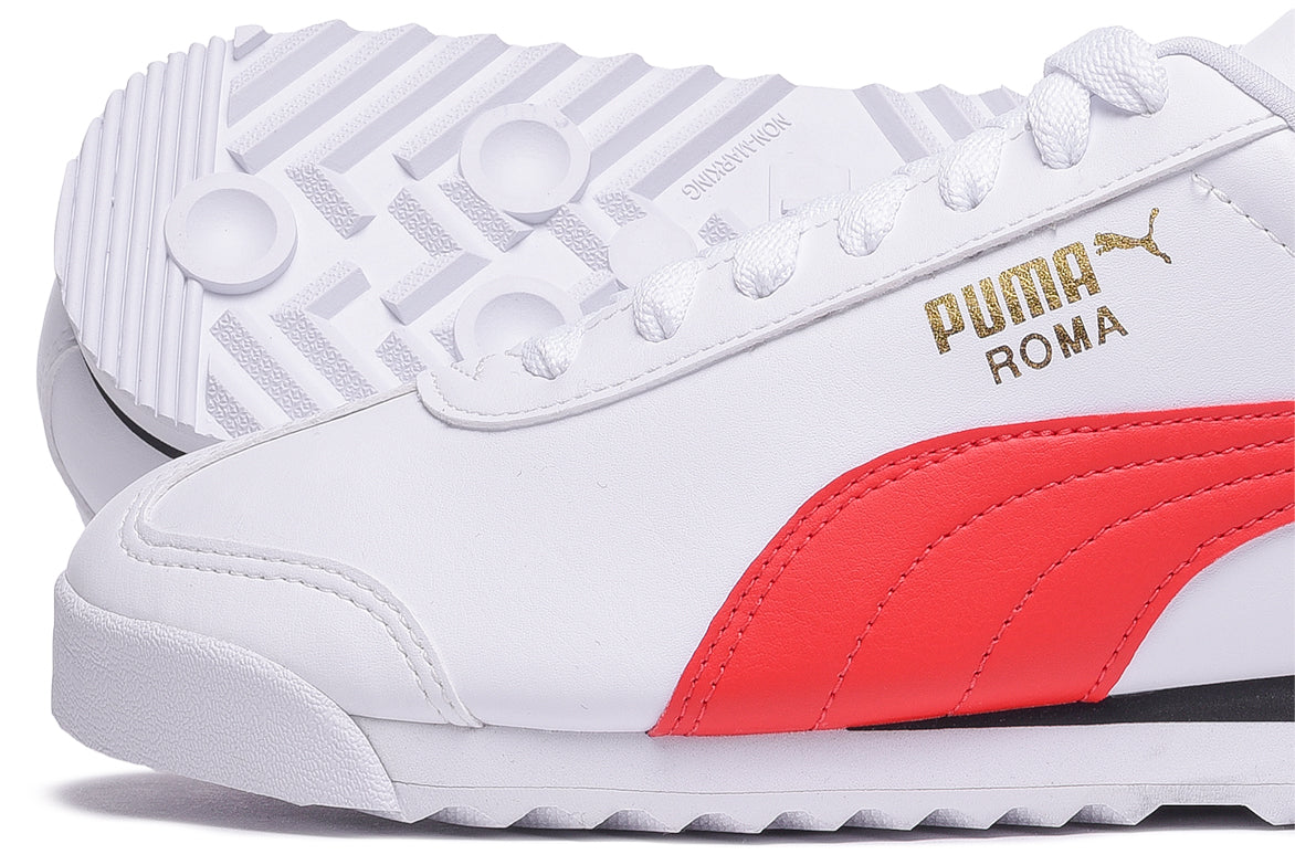 ROMA BASIC + - WHITE / RED