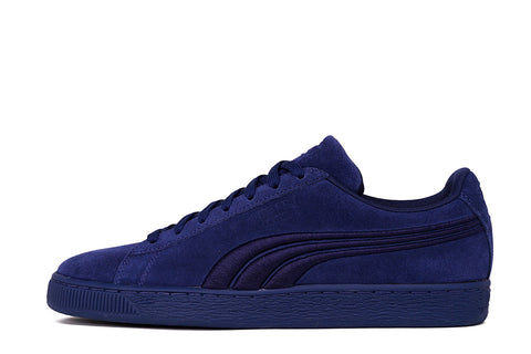 SUEDE CLASSIC BADGE - TWILIGHT BLUE