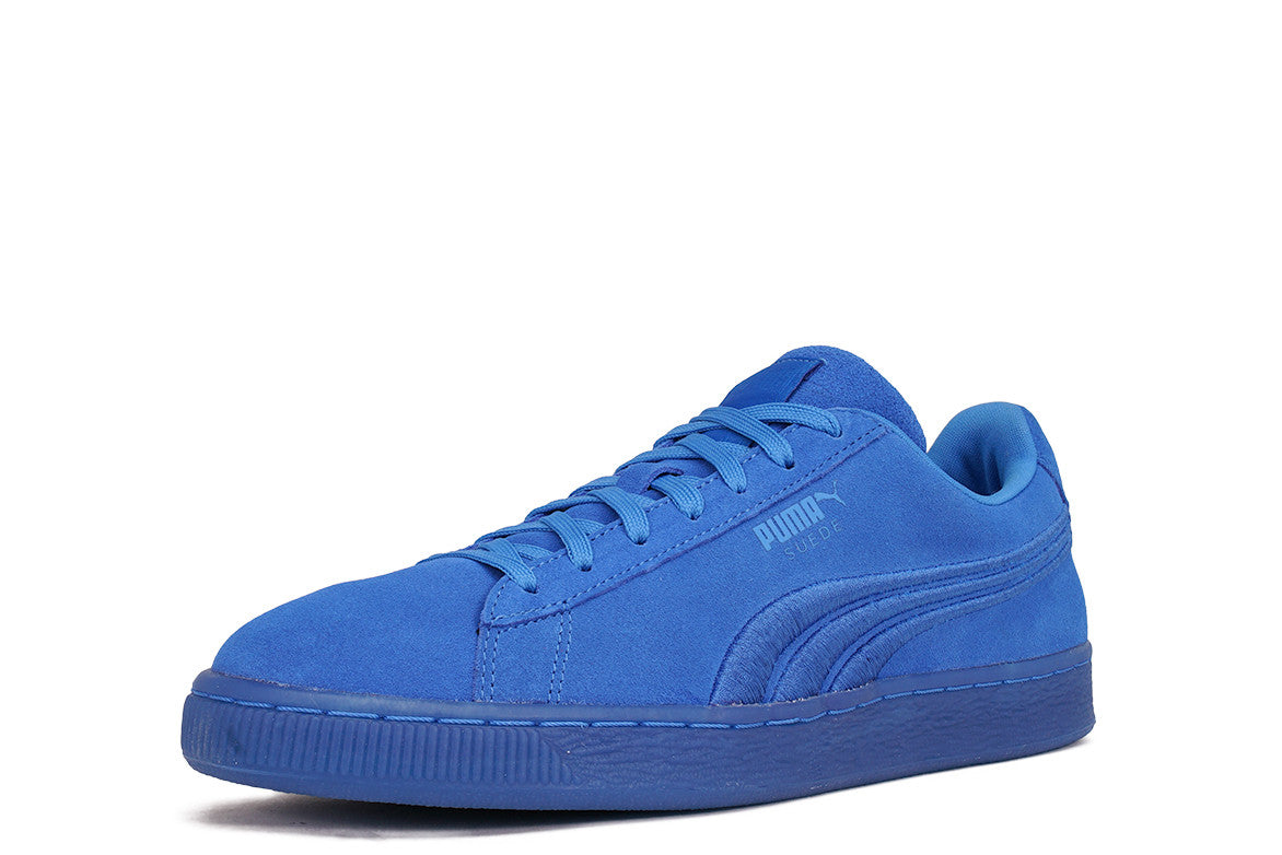 SUEDE CLASSIC BADGE ICED - FRENCH BLUE