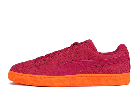SUEDE CLASSIC CULTURE SURF - VIVACIOUS / ORANGE CLOWN FISH