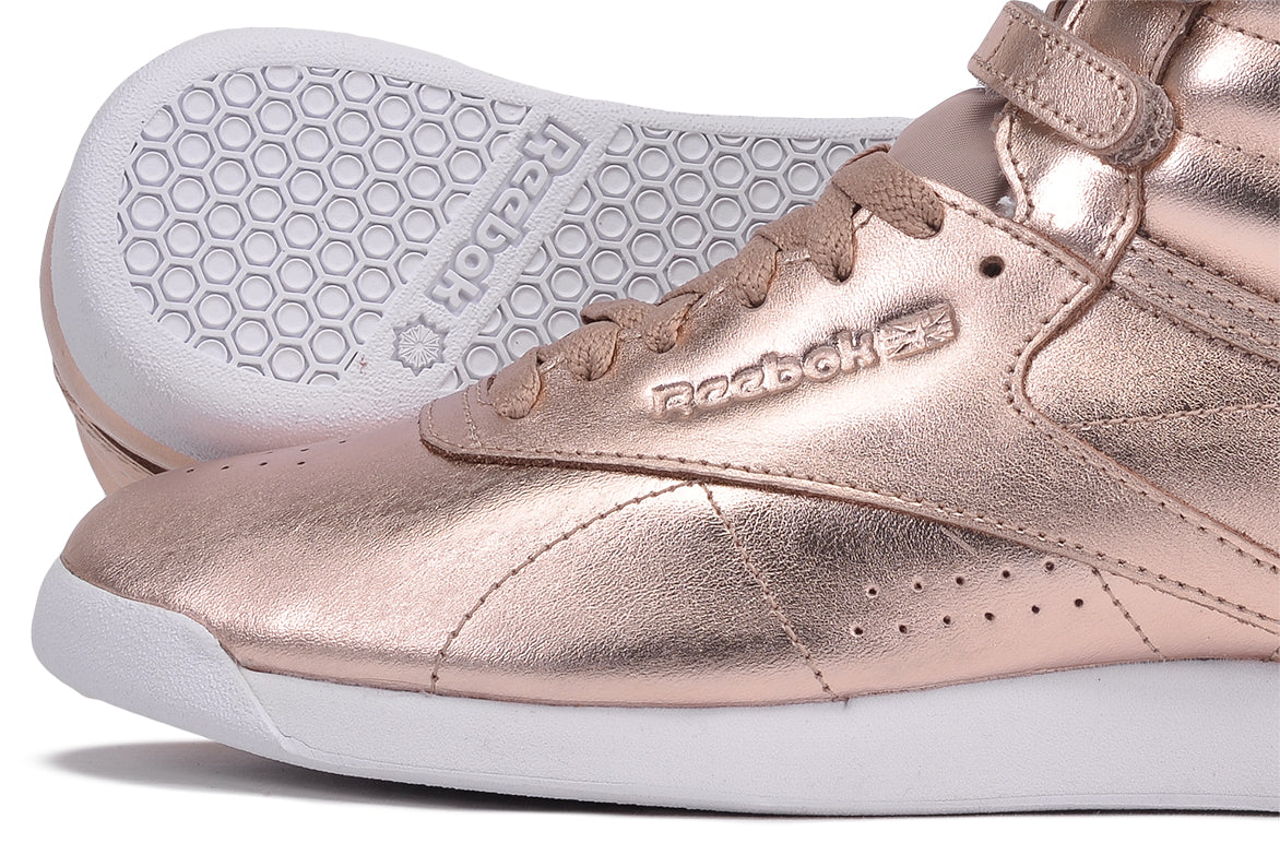 WMNS FREESTYLE HIGH METALLIC - ROSE GOLD