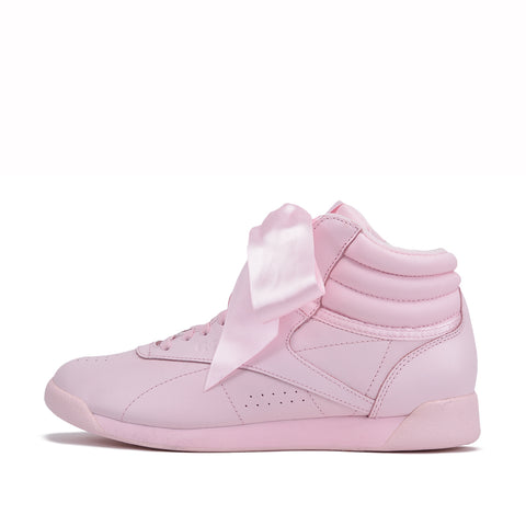 WMNS FREESTYLE HIGH SATIN BOW - PORCELAIN PINK