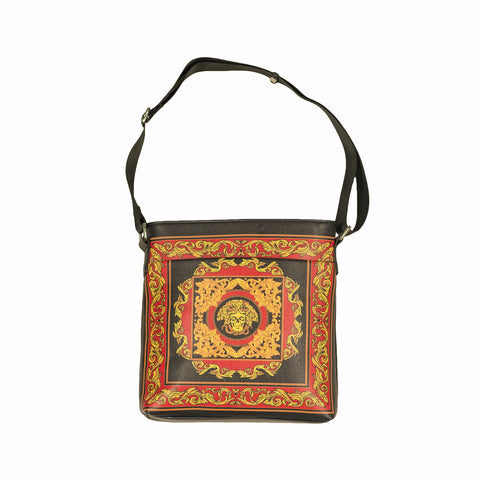 MEDUSA CROSSBODY MESSENGER BAG - MULTI
