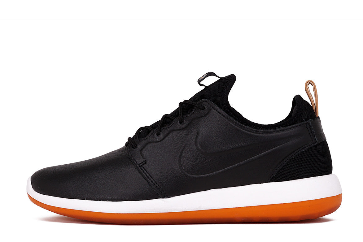ROSHE TWO LEATHER PRM - BLACK