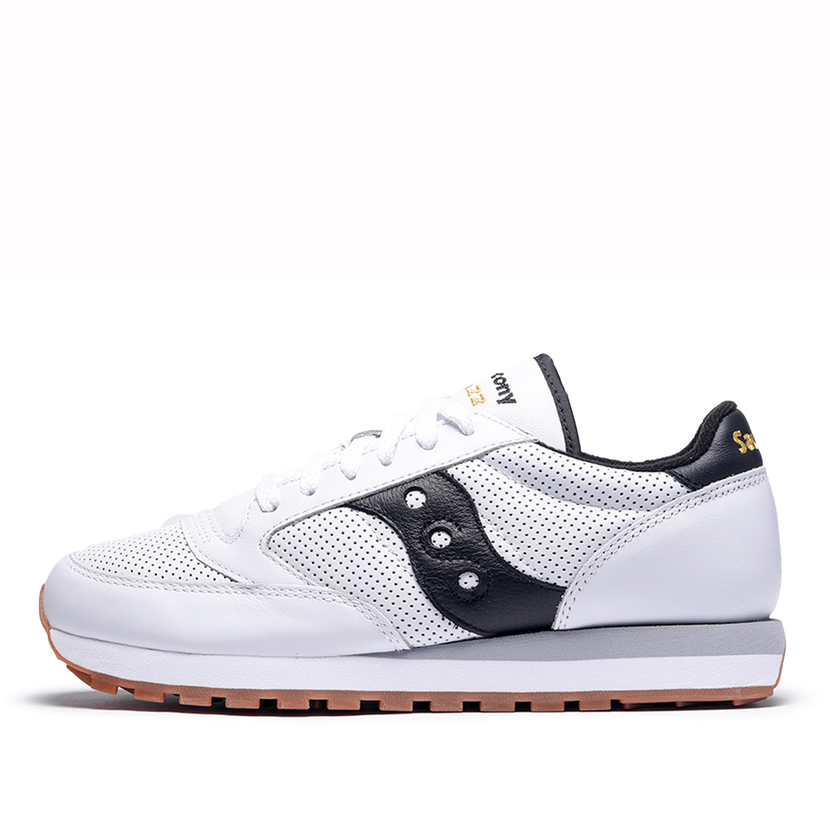JAZZ ORIGINAL LEATHER - WHITE / BLACK