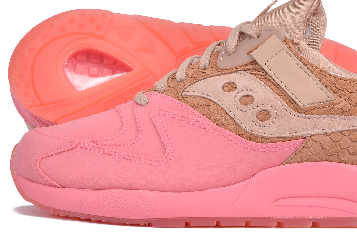 "GRID 9000 HT ""SHERBET PACK"" - TAN / PINK"