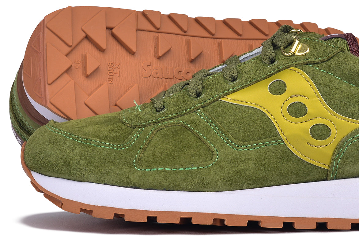 "SHADOW ORIGINAL SUEDE ""RANGER"" - GREEN / GOLD"