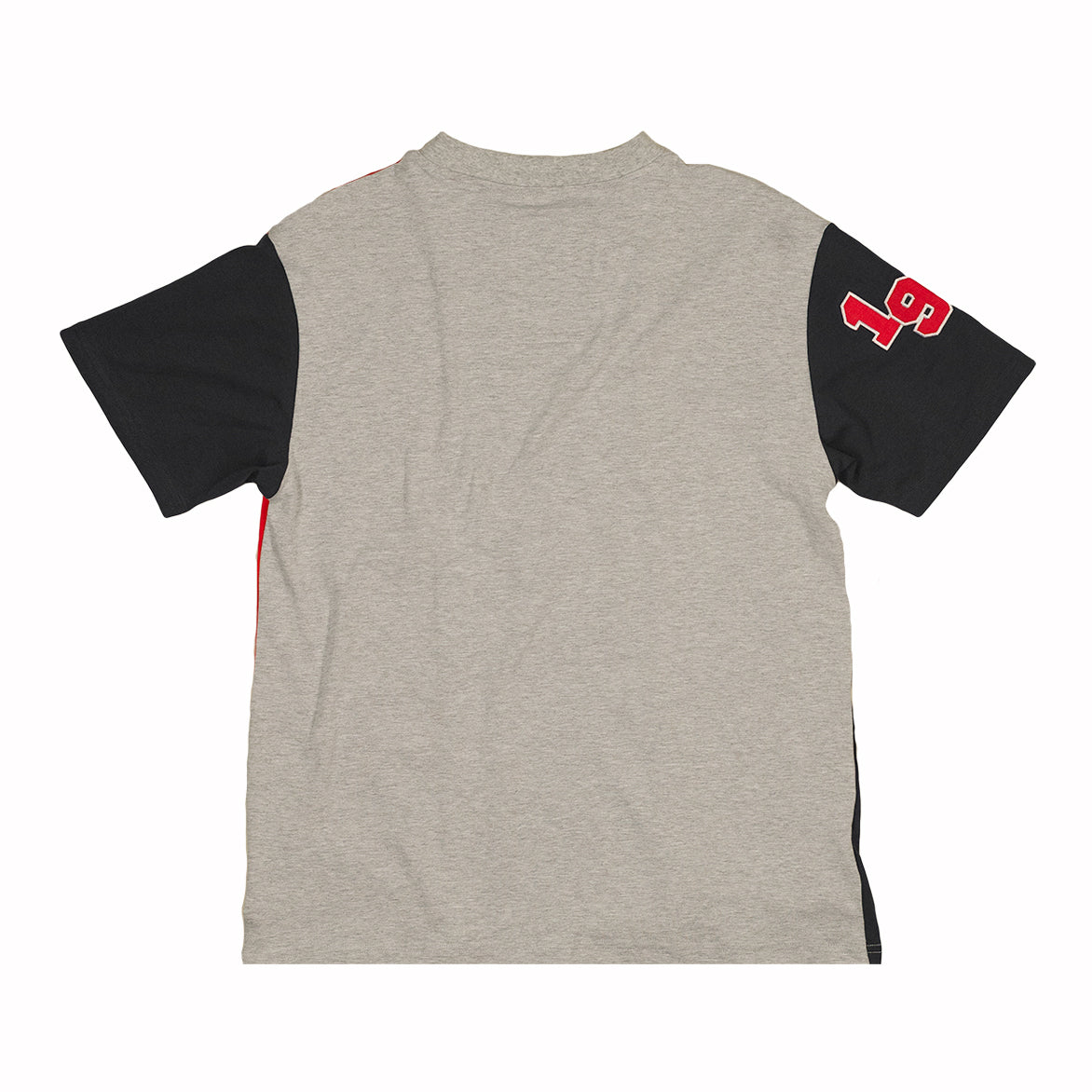 CUT AND SEW JERSEY TEE - MULTI