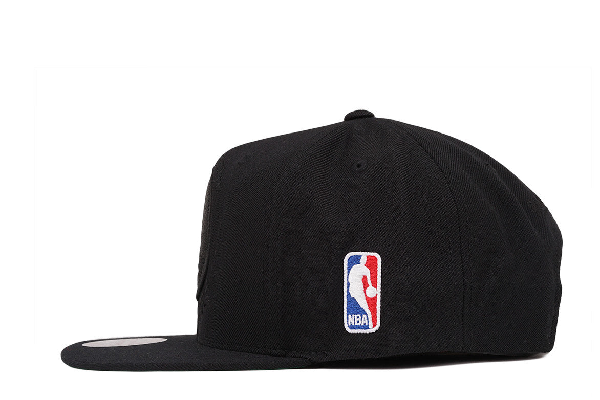 WARRIORS XL LOGO TONAL - BLACK