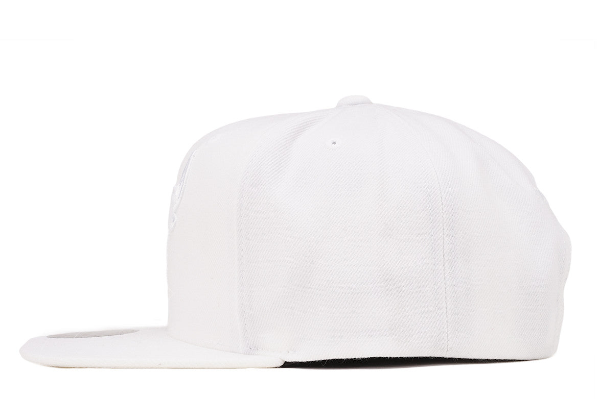 WARRIORS TONAL SNAPBACK - WHITE