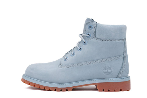 "LIMITED RELEASE 6"" PREMIUM WATERPROOF BOOT (JUNIOR) - SKY BLUE"
