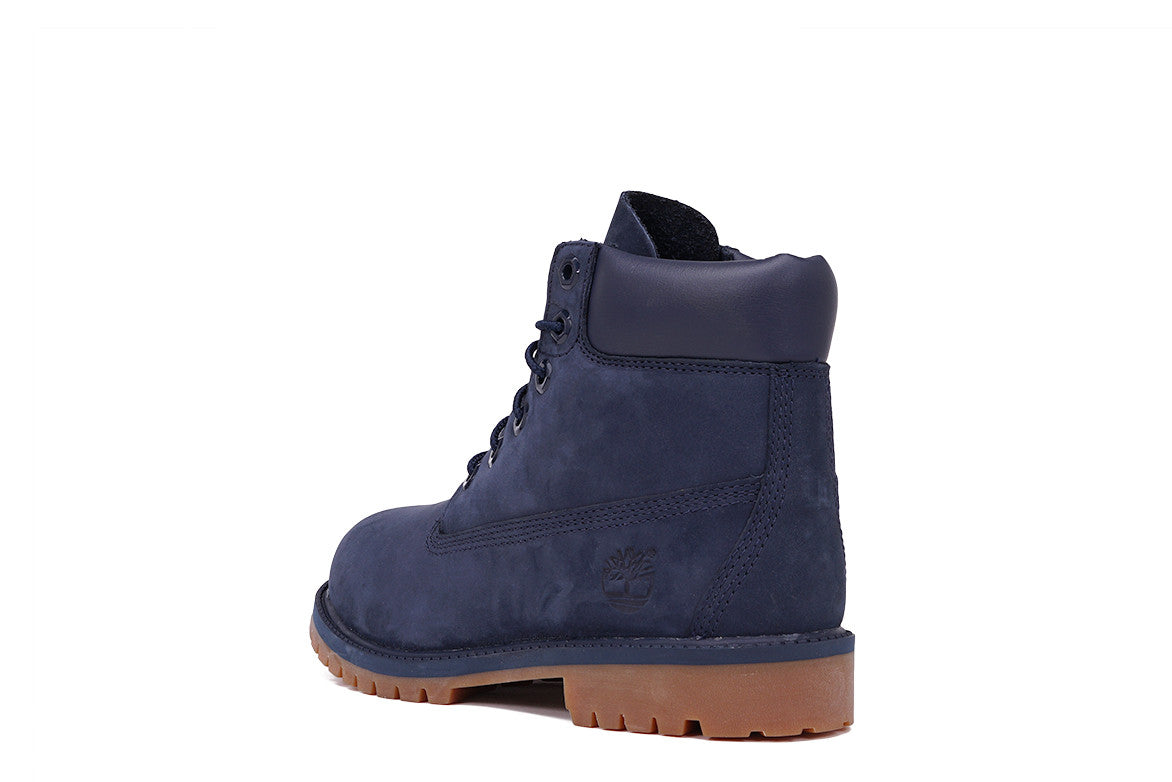 "LIMITED RELEASE 6"" PREMIUM WATERPROOF BOOT (JUNIOR) - NAVY"