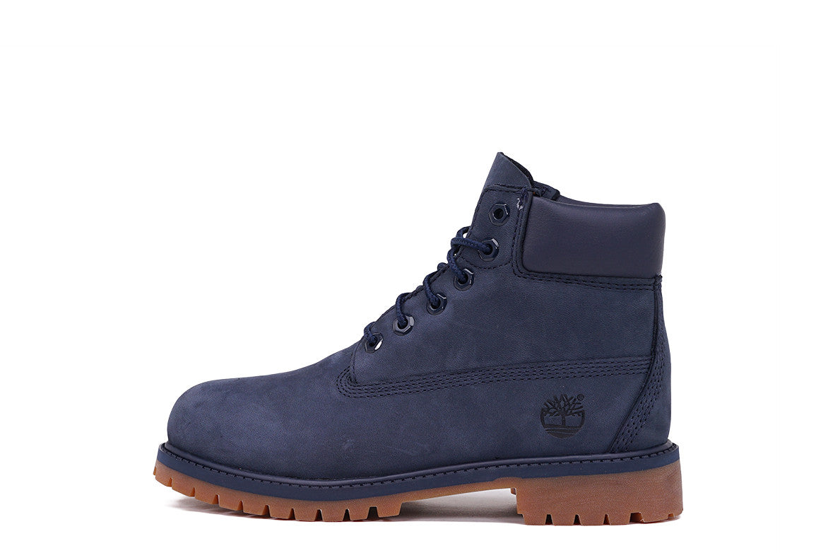 "LIMITED RELEASE 6"" PREMIUM WATERPROOF BOOT (YOUTH) - NAVY"