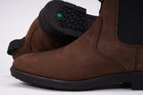 CARTER NOTCH PLAIN TOE CHELSEA BOOT - BROWN
