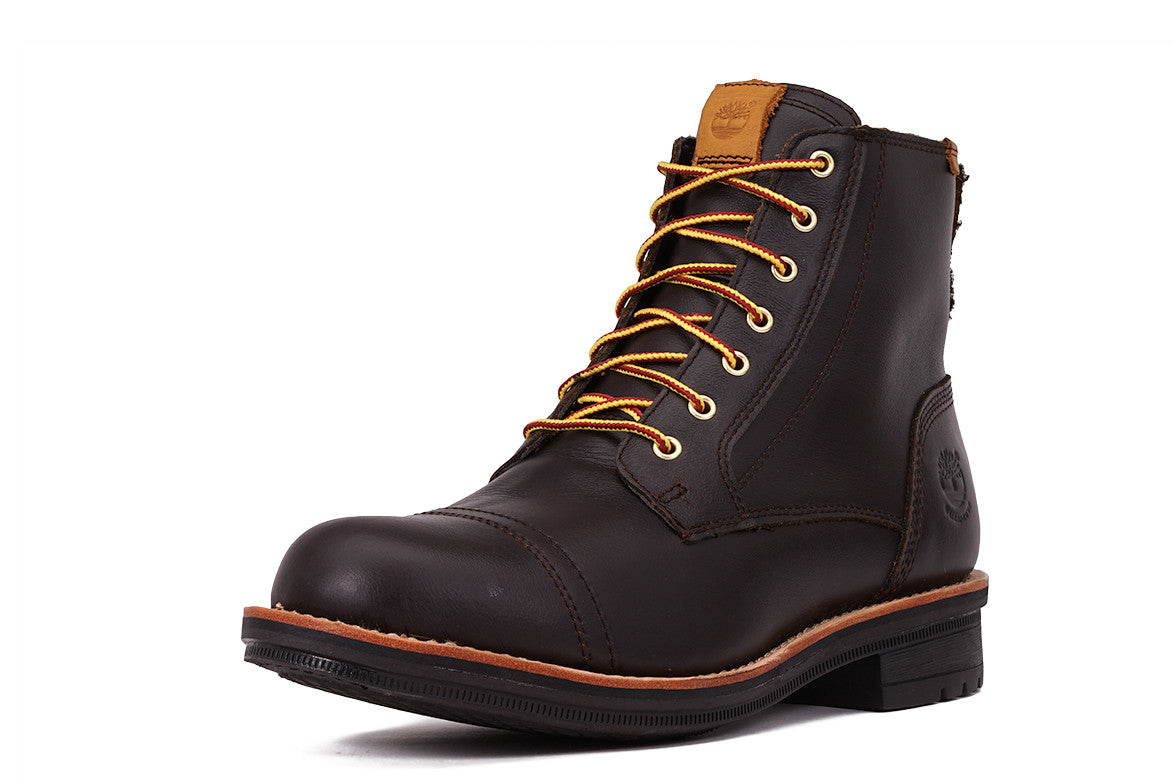 WILLOUGHBY 6 INCH WATERPROOF BOOT - DARK BROWN
