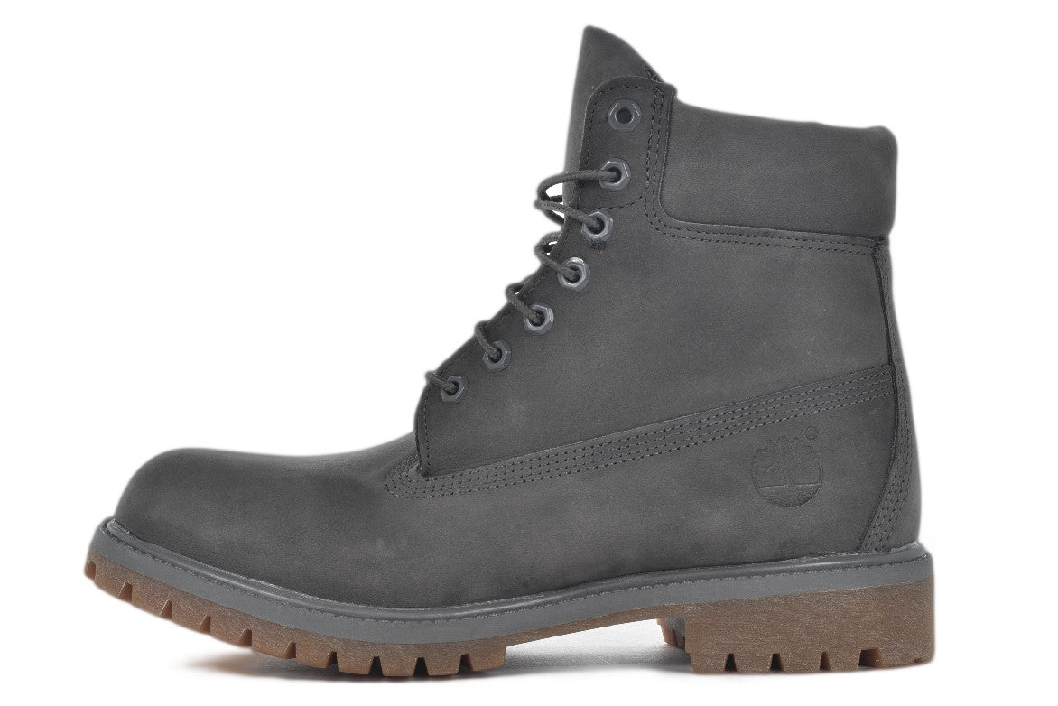 WATERPROOF 6 INCH PREMIUM BOOT - GREY / GUM