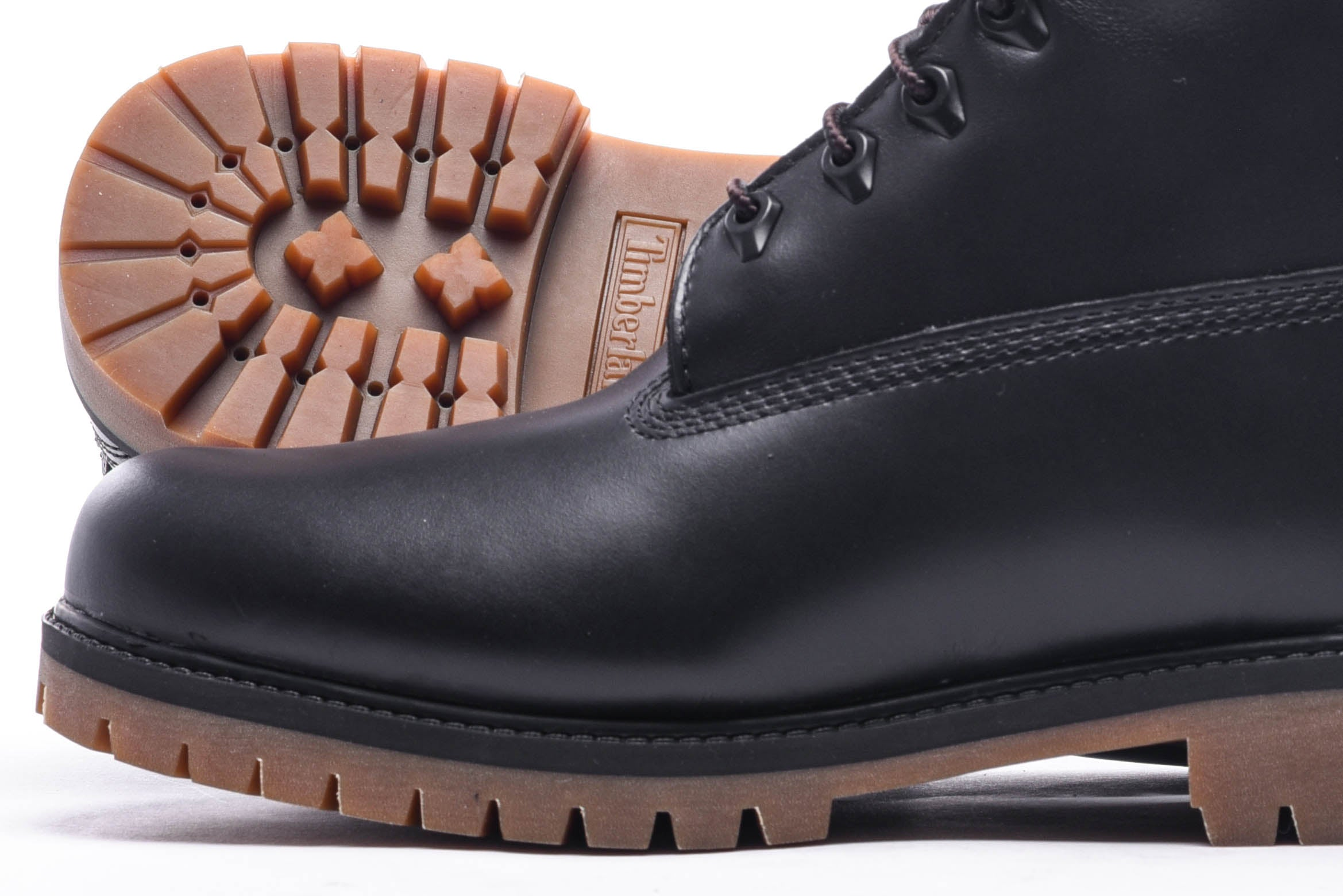 "HERITAGE 6"" WATERPROOF BOOT - BLACK FULL GRAIN"
