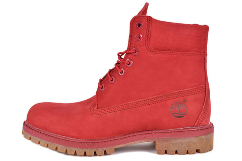 WATERPROOF 6 INCH PREMIUM BOOT - RED