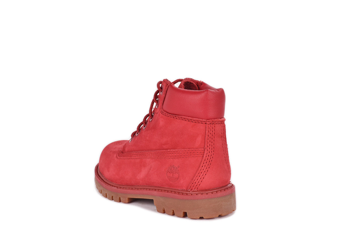 WATERPROOF 6 INCH PREMIUM BOOT (TODDLER) - RED