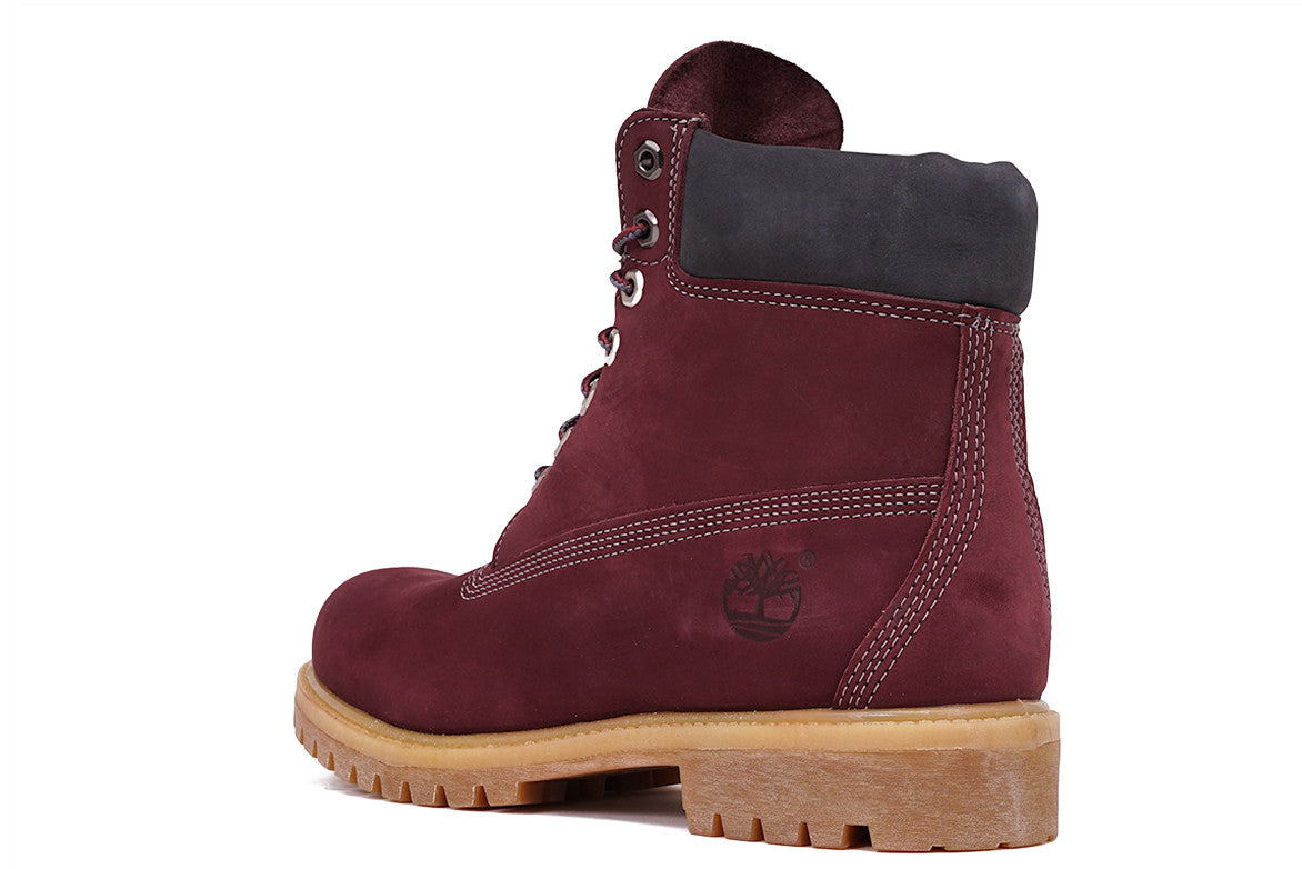 "LIMITED RELEASE 6"" PREMIUM WATERPROOF BOOT - MAROON"