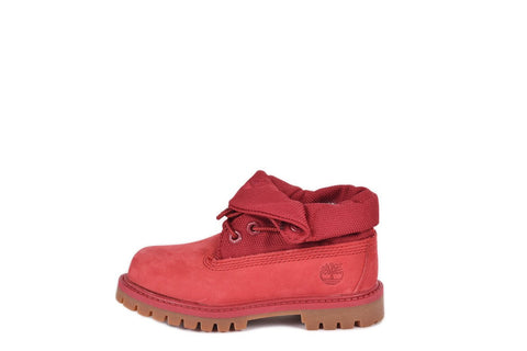 ROLL TOP BOOT (TODDLER) - RED