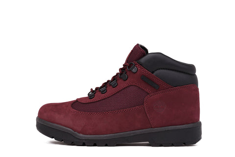 WATERPROOF FIELD BOOT (JUNIOR) - BURGUNDY