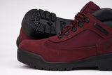 WATERPROOF FIELD BOOT - BURGUNDY