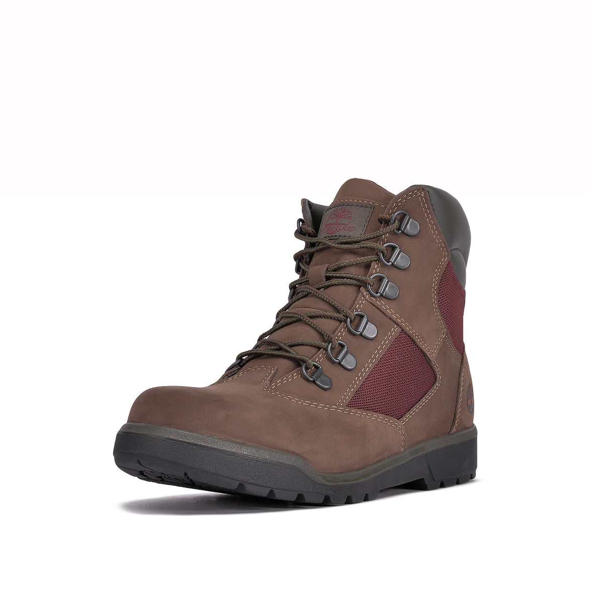 "WATERPROOF 6"" FIELD BOOT (JUNIOR) - DARK BROWN NUBUCK"