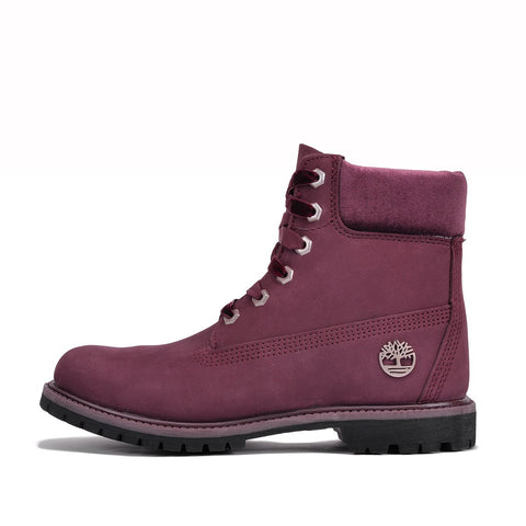 "WMNS 6"" WATERPROOF PREMIUM BOOT ""VELVET BURGUNDY"""