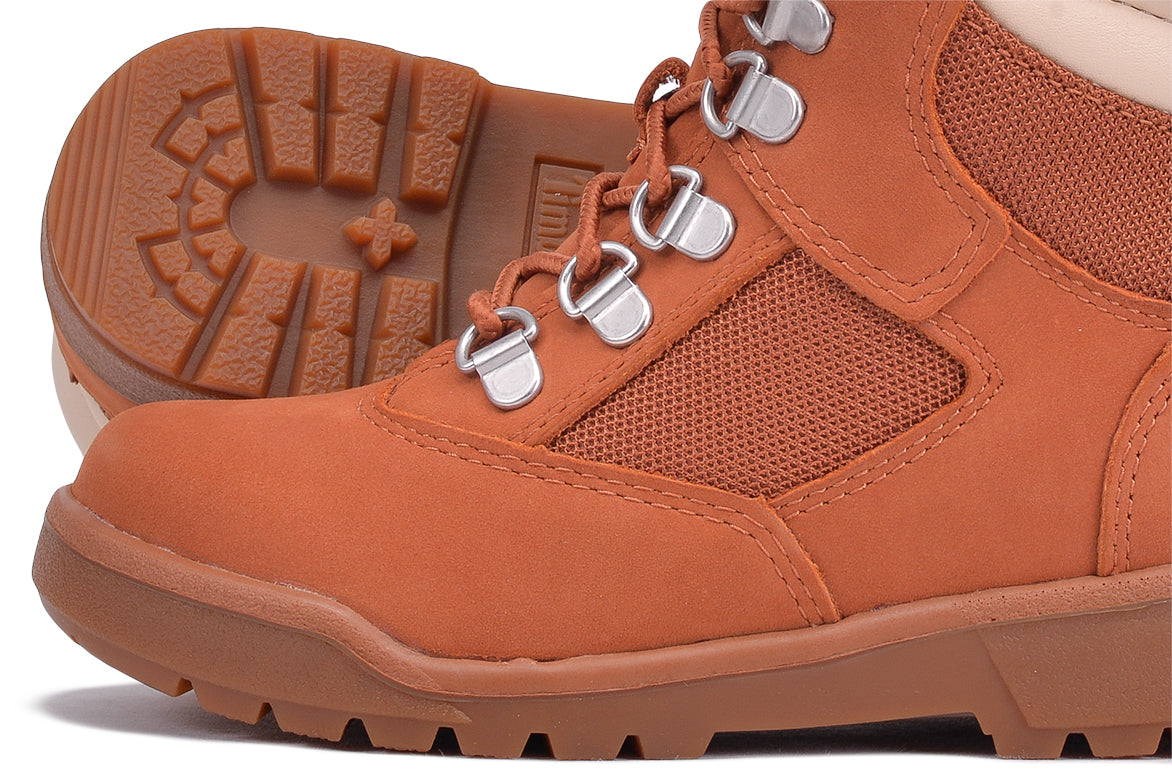 "WATERPROOF 6"" FIELD BOOT (YOUTH) - BURNT SIENNA"