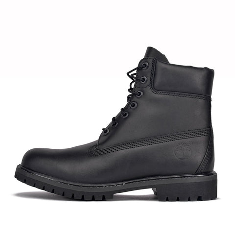 WATERPROOF 6 INCH PREMIUM LEATHER BOOT - BLACK