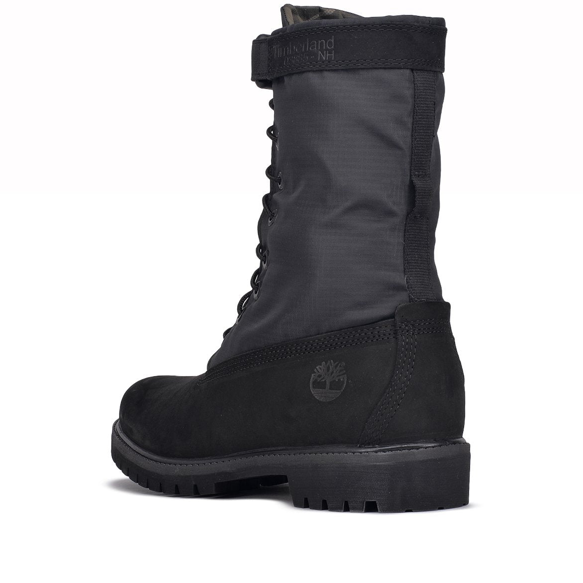 "SPECIAL RELEASE 6"" MIXED MEDIA GAITER BOOT - BLACK"