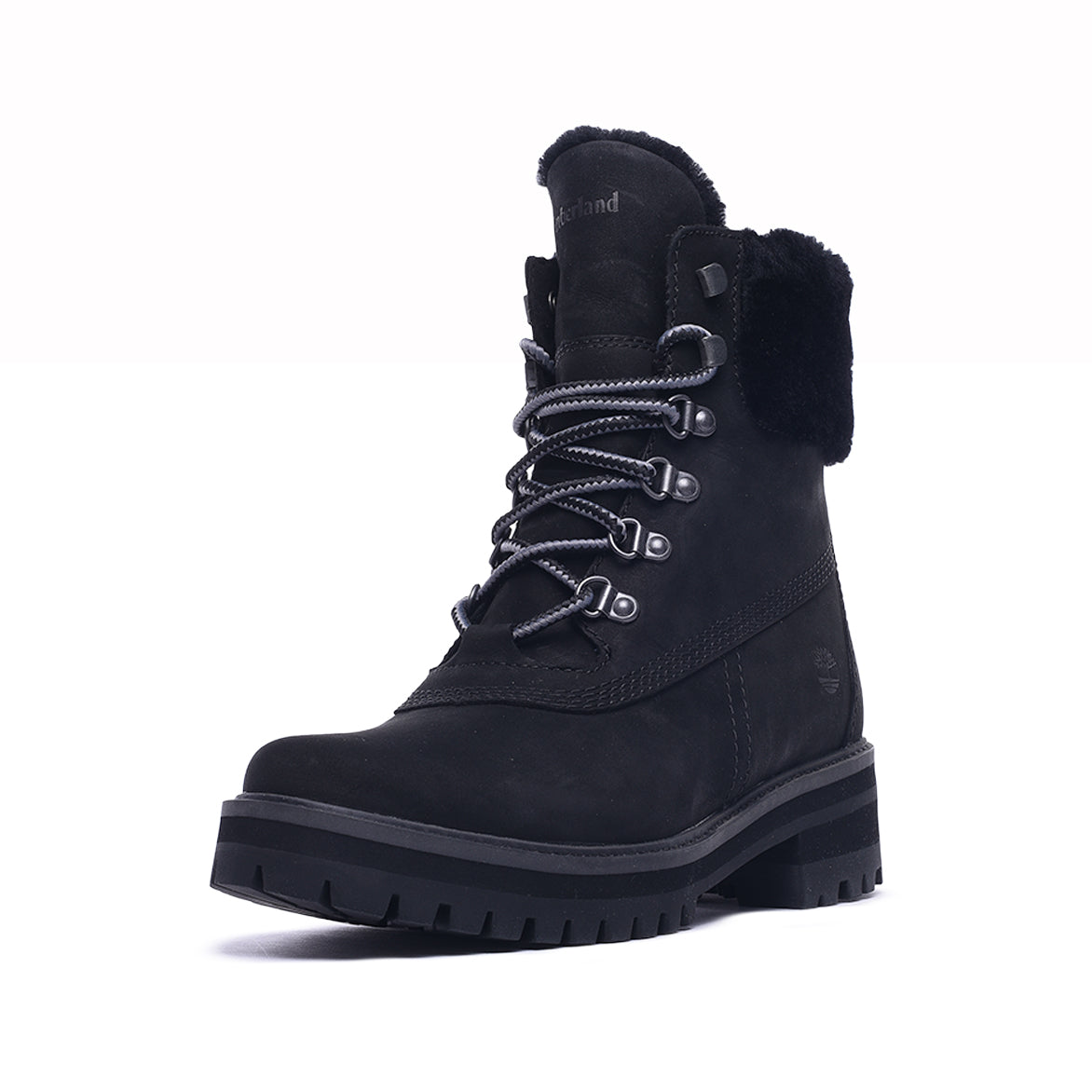 "COURMAYEUR VALLEY 6"" SHEARLING WATERPROOF BOOT - BLACK NUBUCK"