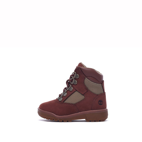 "WATERPROOF 6"" FIELD BOOT (TODDLER) - RUST NUBUCK"