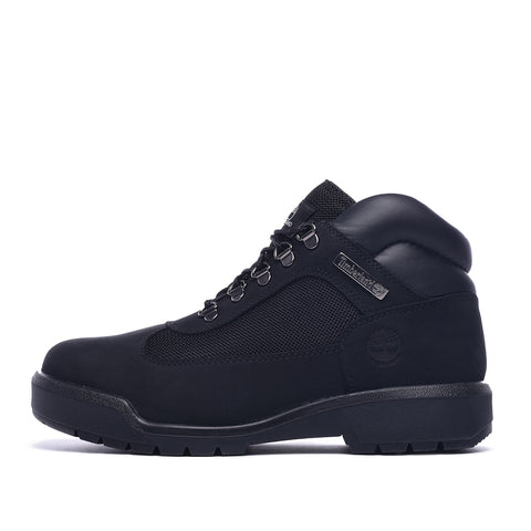 WATERPROOF FIELD BOOT - BLACK NUBUCK