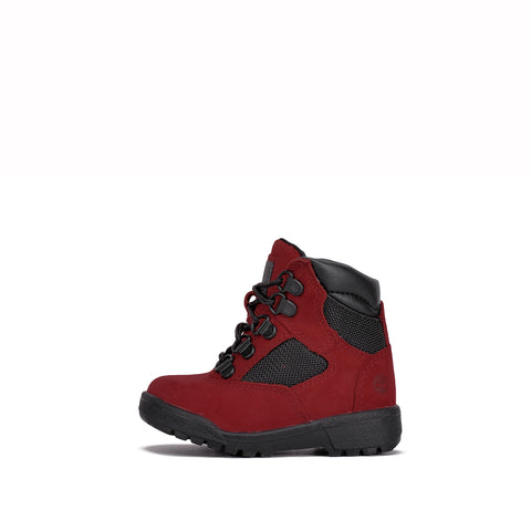 "WATERPROOF 6"" FIELD BOOT (TD) - RED / DARK GREY"