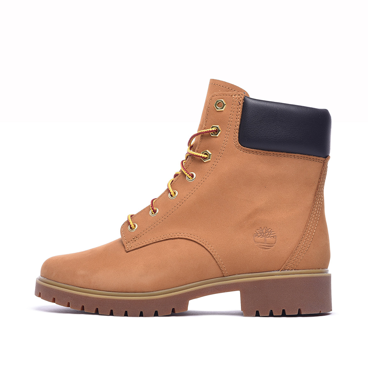"WMNS JAYNE 6"" WATERPROOF BOOT - WHEAT NUBUCK"
