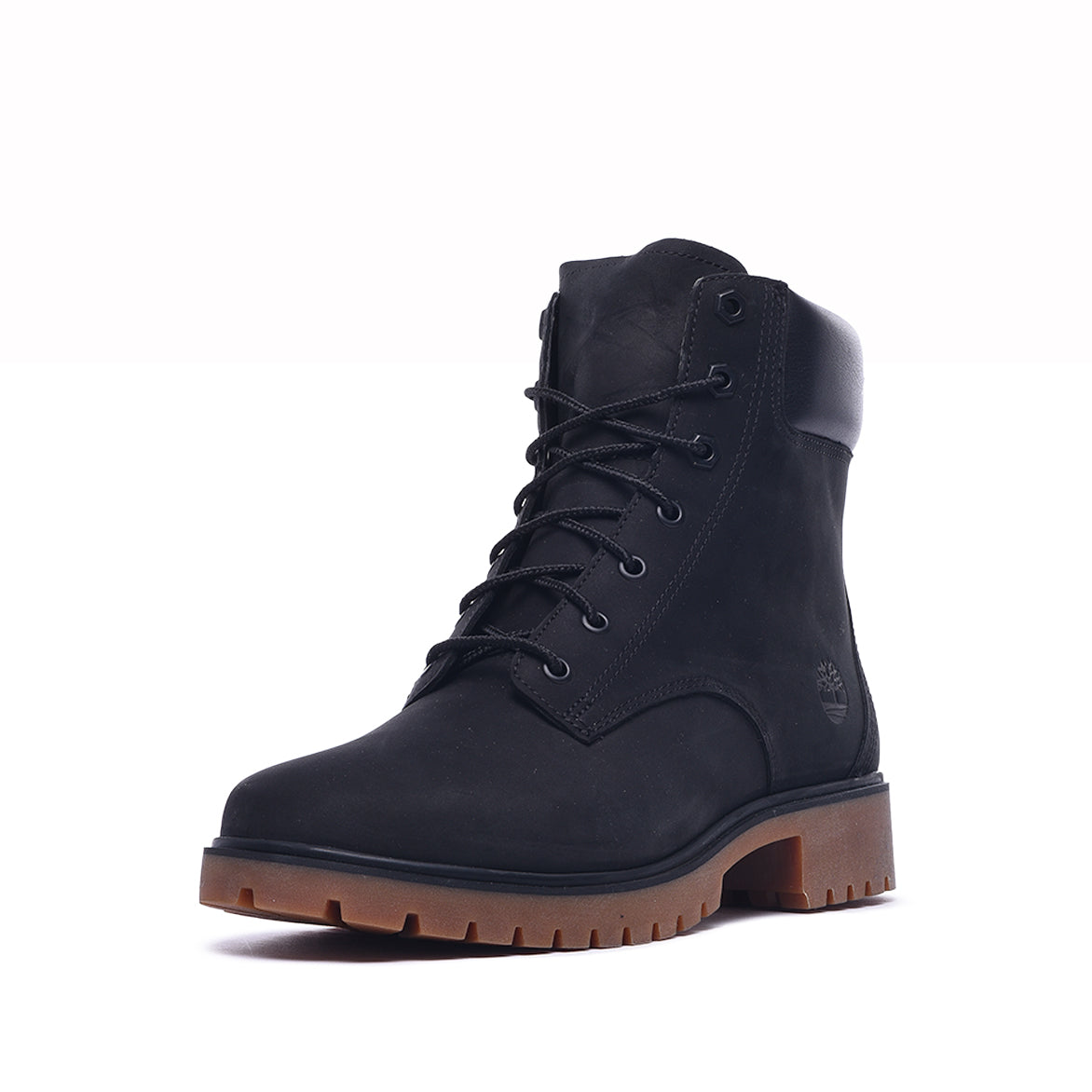 "WMNS JAYNE 6"" WATERPROOF BOOT - BLACK NUBUCK"