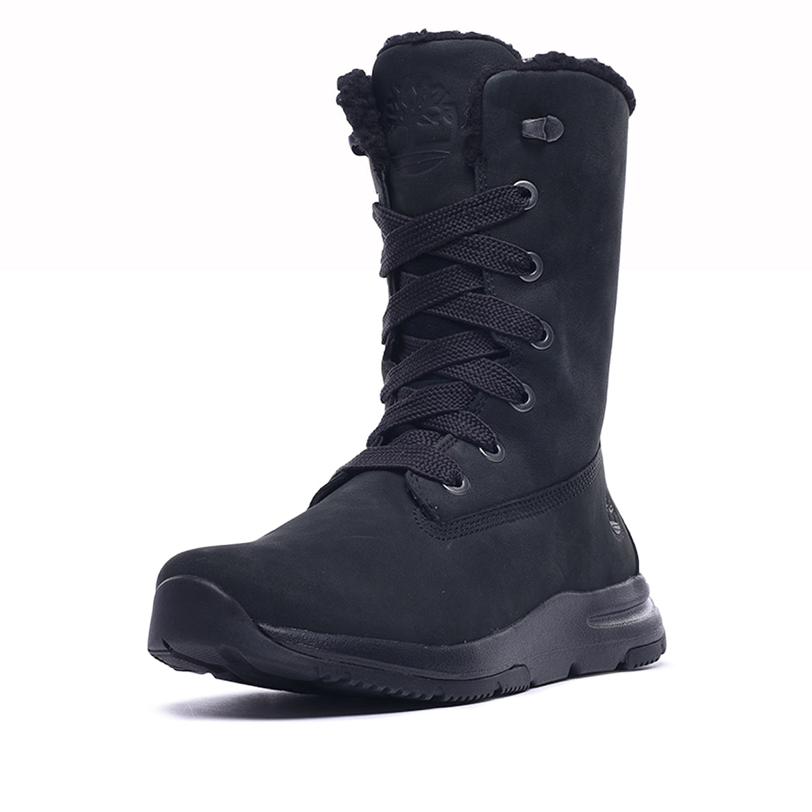 WMNS MABEL TOWN MID WATERPROOF BOOT - BLACK