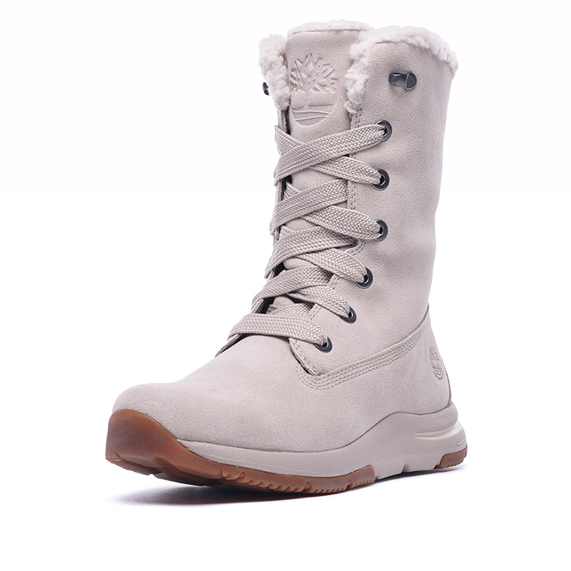 WMNS MABEL TOWN MID WATERPROOF BOOT - LIGHT TAUPE