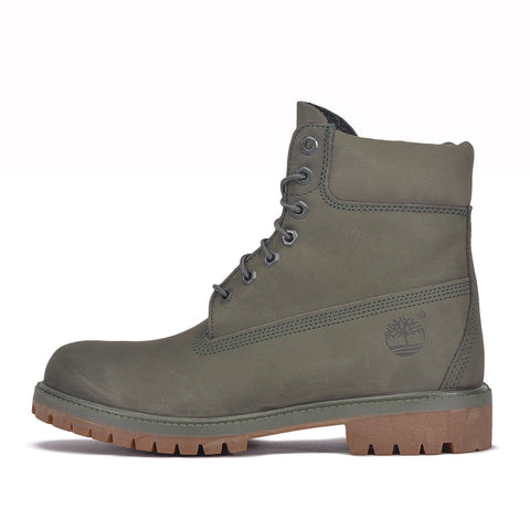 WATERPROOF 6 INCH PREMIUM BOOT  - GREEN